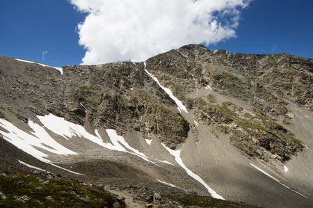Torreys Peak, a 14247 foot mountain in Colorado