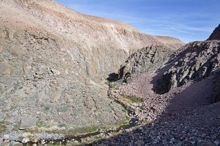 Lower Owens River Gorge near Bishop California