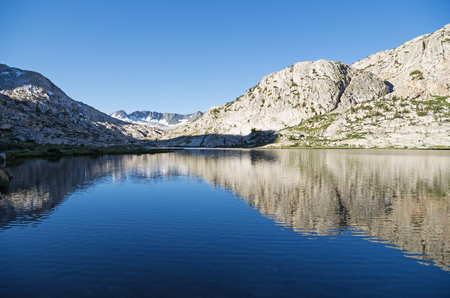 Evolution Lake in Kings Canyon National Park