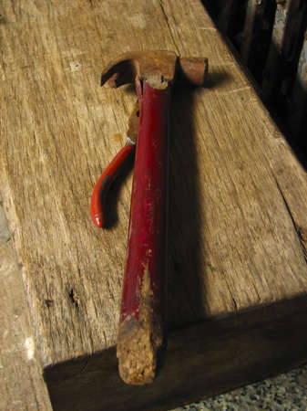 An old hammer