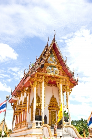 the temple of thailand Stock Photo