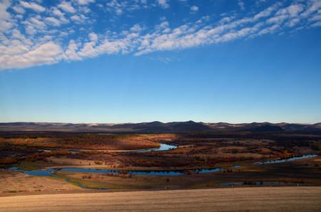 wetlands: Genhe wetlands Stock Photo