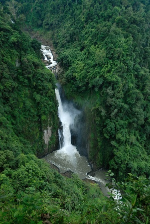 Waterfall jungle Stock Photo - 9126458