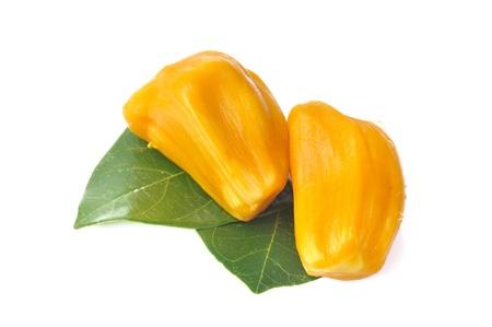 Jackfruit isolated on white background Stock Photo - 13656445