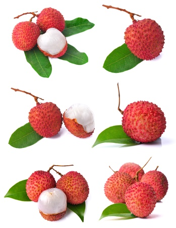 Lychees collection photo