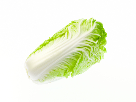 Lettuce isolated on a white background photo
