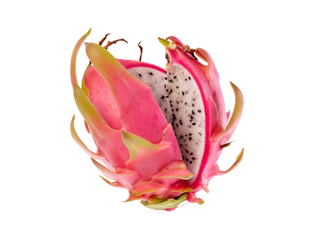 Dragon fruit isolated on white background Stock Photo