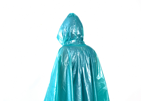 raincoat isolated