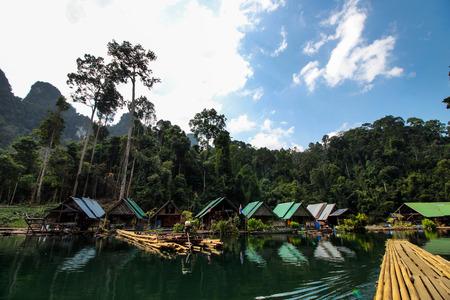 raft: Rajjaprabha Dam guilin Thailand raft