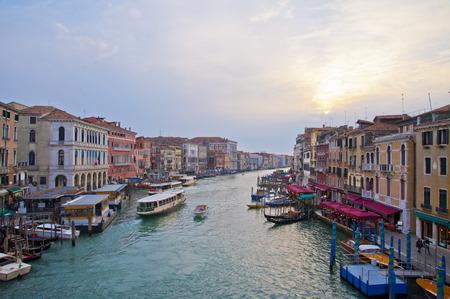rialto: Venice Rialto Bridge Italy Editorial