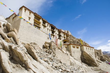 the Shey palace in Leh, India photo