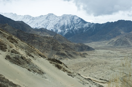 leh: view of Leh, India