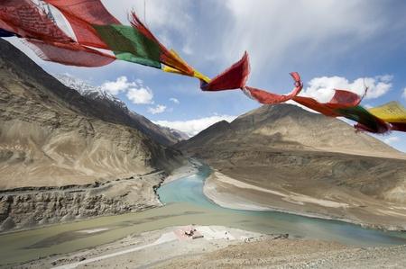 a river in Leh, India