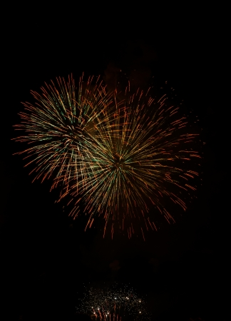 celebratation: fourth of july fireworks, USA