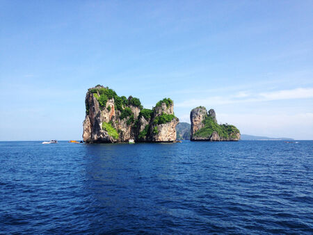 view of Koh Hah, the island in south andaman, Thailand Reklamní fotografie