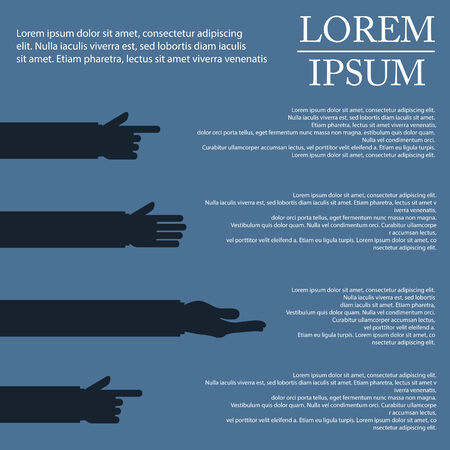 tumb: illustration of hand infographic in hand with shadow