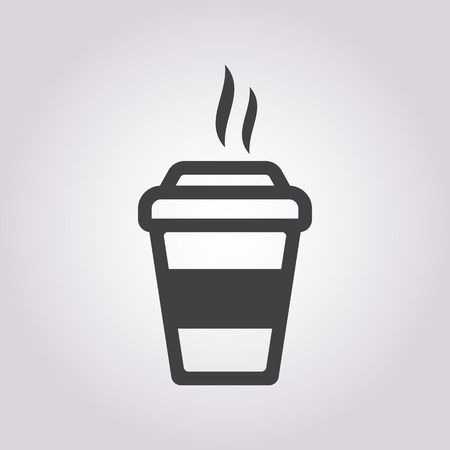 coffee to go: vector illustration of business and finance icon coffee Illustration