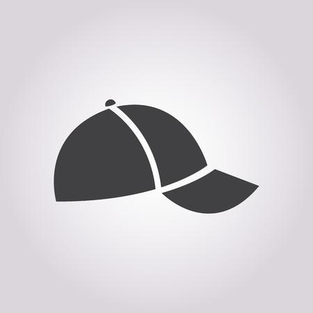 baseball cartoon: illustration of business and finance icon  cap