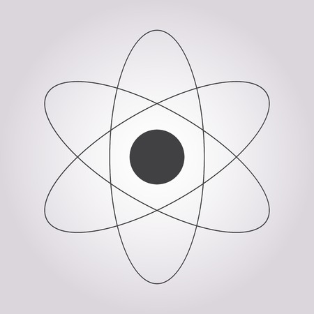 fission: vector illustration of business and finance icon atom Illustration