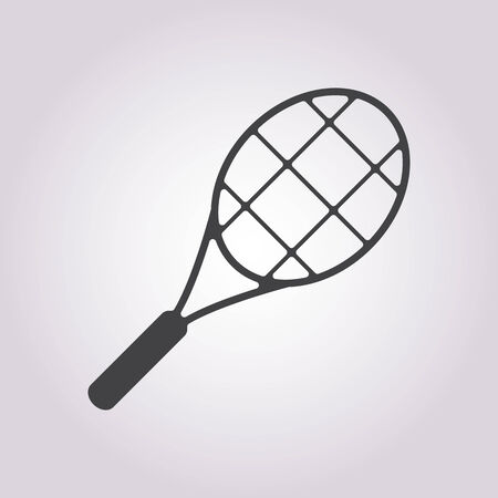 racket: vector illustration of business and finance icon racket Illustration