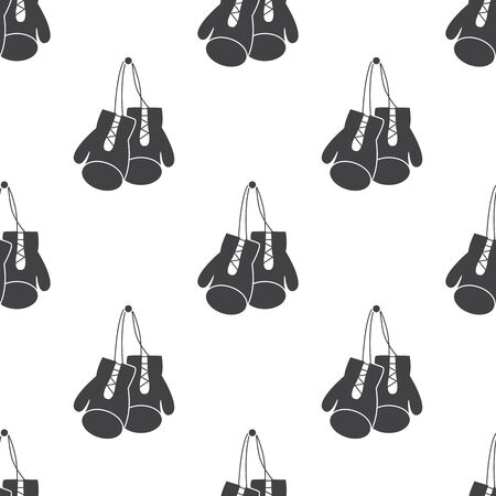 gloves: illustration of business and finance icon boxing gloves