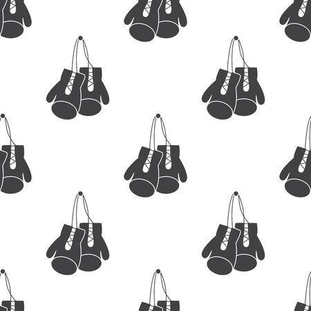 guantes: ilustraci�n de negocios y las finanzas guantes de boxeo icono Vectores