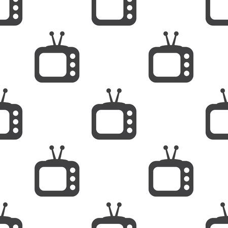 con: vector illustration of modern i con tv Illustration
