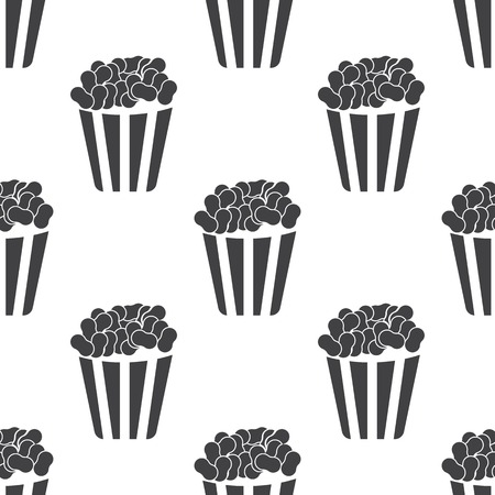 vector illustration of modern icon pop corn Vector
