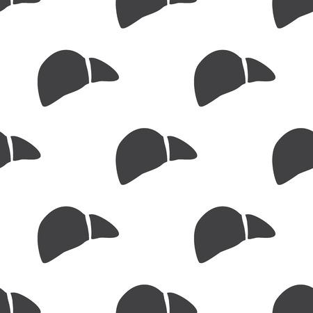 bile: vector illustration of modern b lack pattern liver