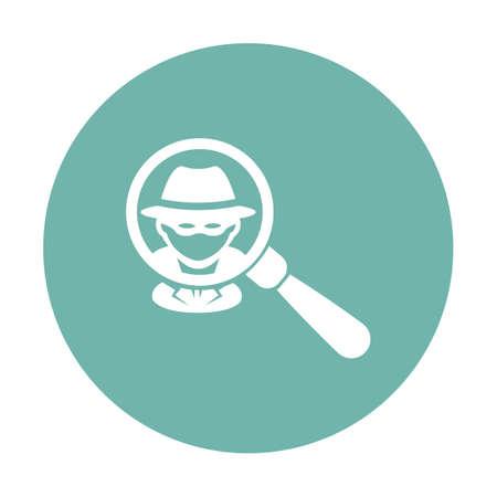 squad: vector illustration of modern b lack icon police