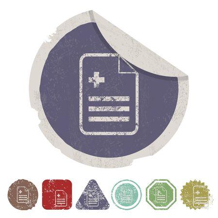 lack: vector illustration of modern b lack icon document
