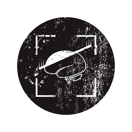medical scans: vector illustration of modern black icon brain scan