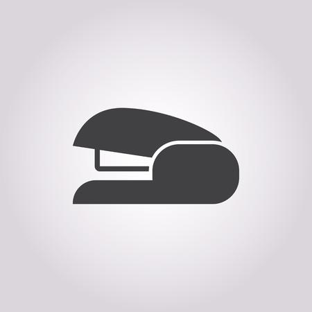 stapling: illustration of vector office modern icon in design