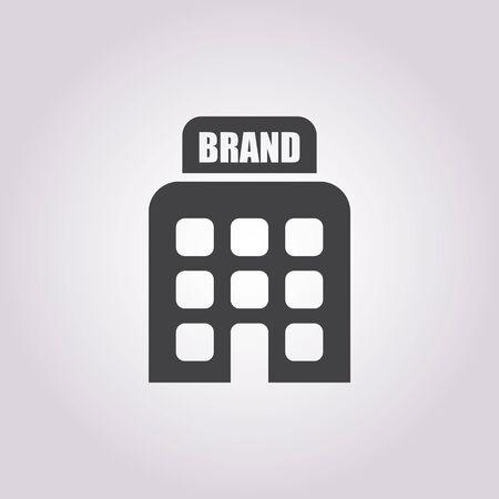 illustration of vector office modern icon in design