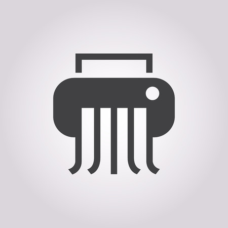 proprietary: illustration of vector office modern icon in design