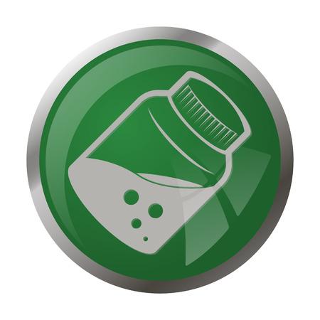 phial: illustration of vector medical modern icon in design