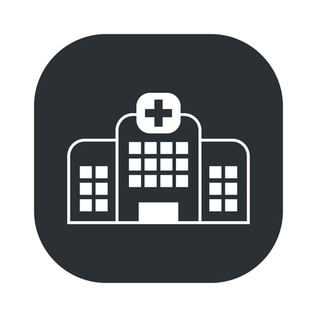 trees services: illustration of vector medical modern icon in design