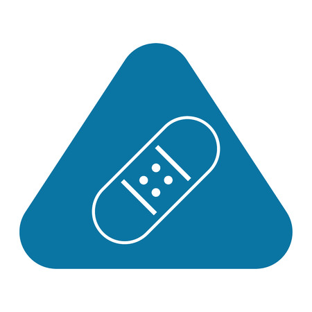 enhanced health: illustration of vector medical modern icon in design