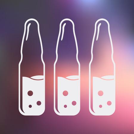 기밀: 디자인 벡터 의료 현대 아이콘의 그림