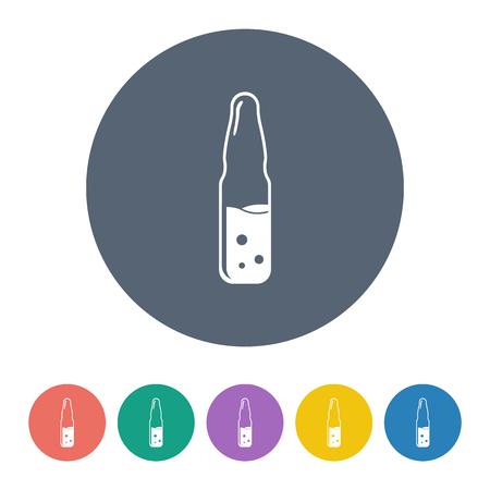 airtight: illustration of vector medical modern icon in design