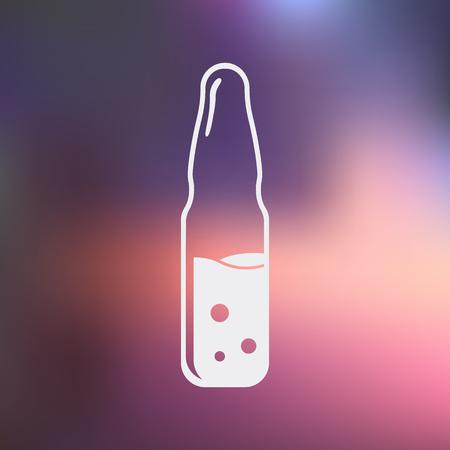 기밀: illustration of vector medical modern icon in design