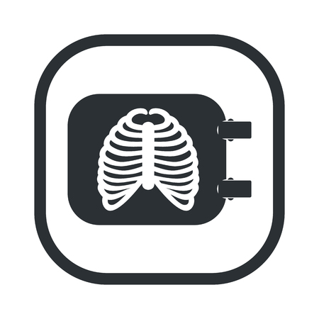 illustration of vector medical modern icon in design