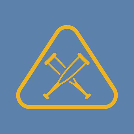 illustration of vector medical modern icon in design Vector