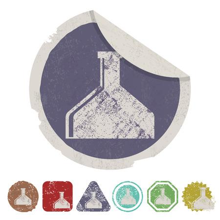 drug test: illustration of vector medical modern icon in design