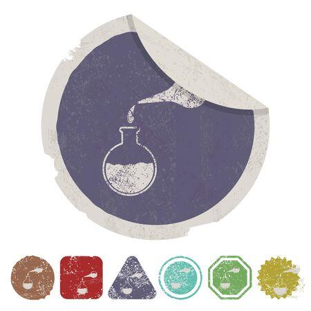 gladness: illustration of vector medical modern icon in design