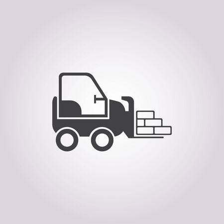 warehousing: illustration of vector building modern icon in design Illustration