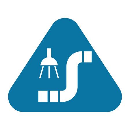 waterspout: illustrazione vettoriale di costruzione icona moderna nel design