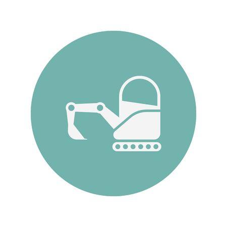 mini loader: illustration of vector building modern icon in design Illustration