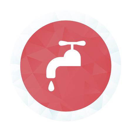 water basin: illustration of vector building modern icon in design Illustration