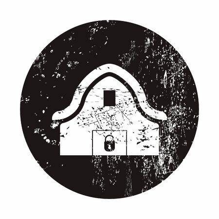 Vector illustration of modern farm icon Vector